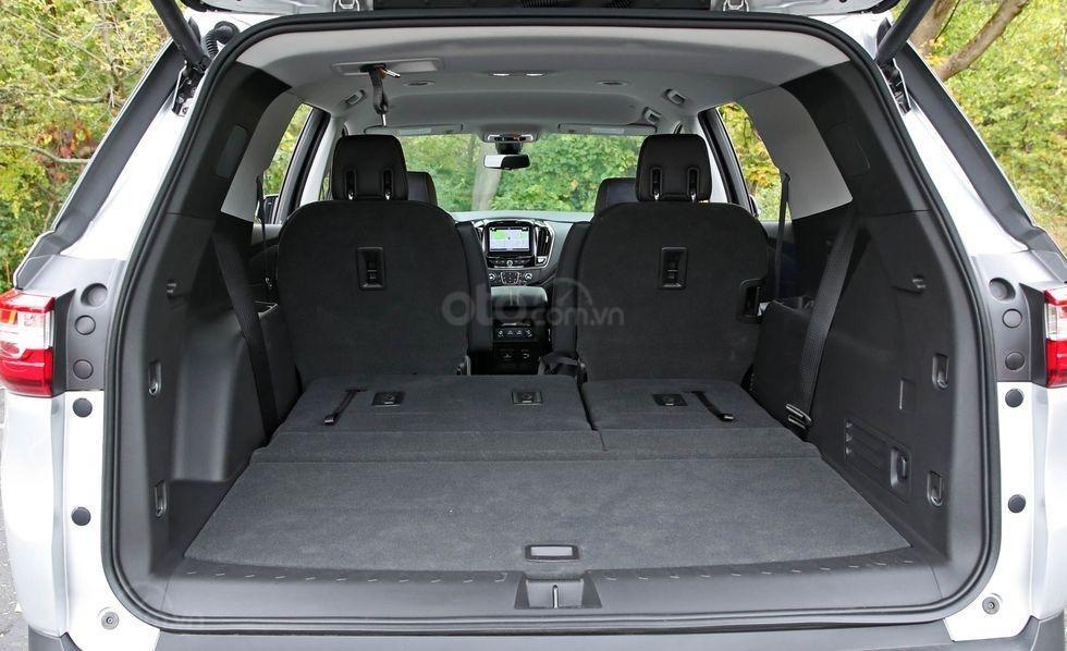 Khoang hành lý của xe Chevrolet Traverse 2019