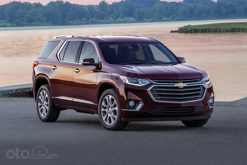 Chevrolet Traverse 2019 màu đỏ