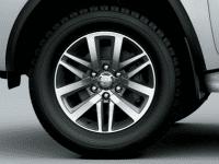 Hyundai Santa Fe 2.2L dầu đặc biệt 2019 và Toyota Fortuner 2.8V 4x4 2018 về phần thân 3