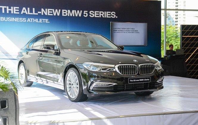BMW 5-Series 2019 chính thức ra mắt tại Việt Nam, giá từ 2,389 tỷ đồng a2