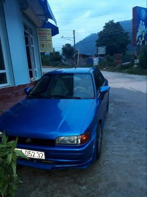 Cần bán Mazda 323 năm sản xuất 1995, màu xanh lam (1)