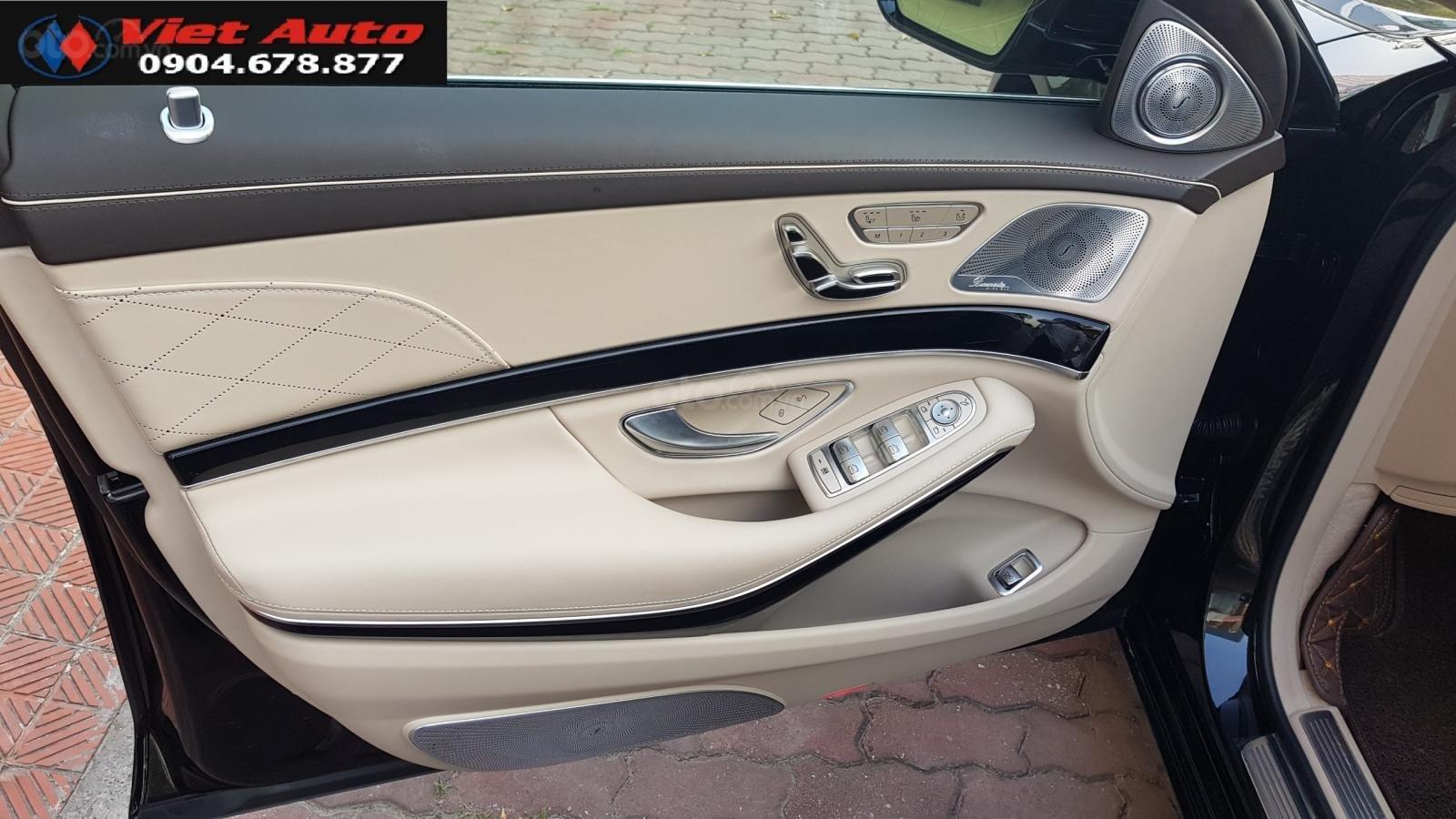 Bán Mercedes-Benz S450 Maybach màu đen, nội thất kem, xe sản xuất 2017, đăng ký lần đầu 4/2018 tên công ty-3