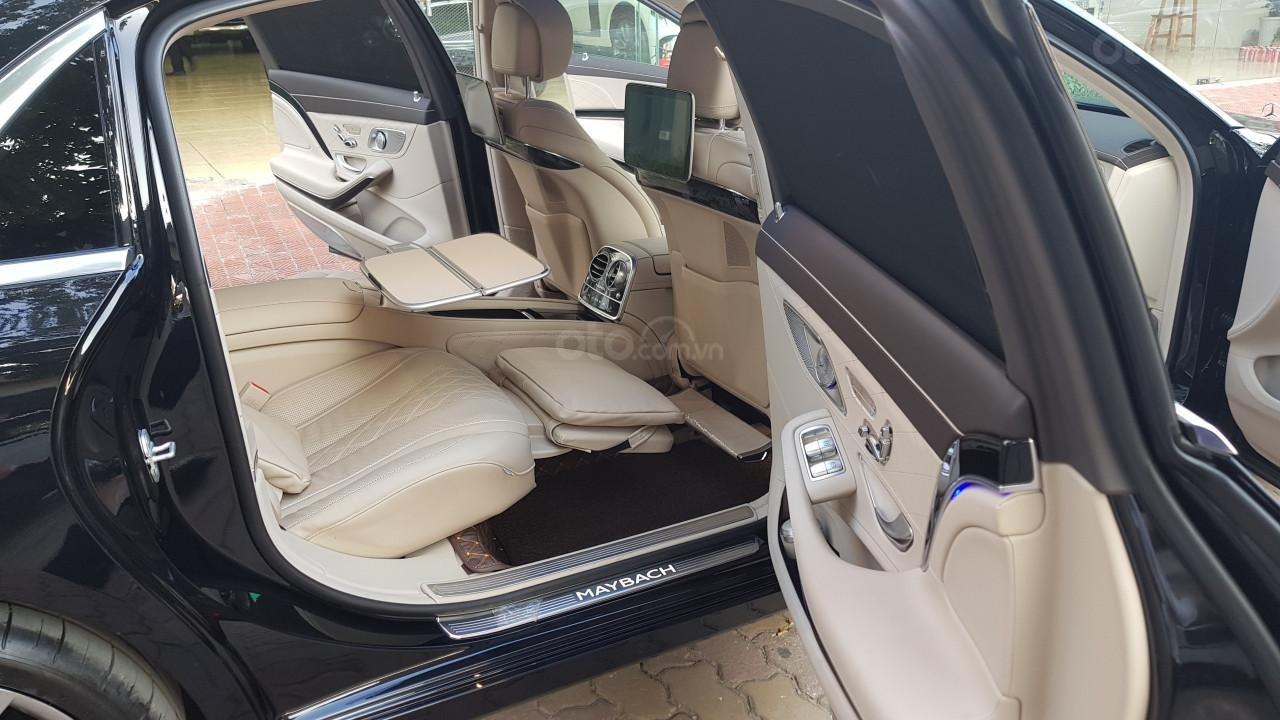 Bán Mercedes-Benz S450 Maybach màu đen, nội thất kem, xe sản xuất 2017, đăng ký lần đầu 4/2018 tên công ty-9