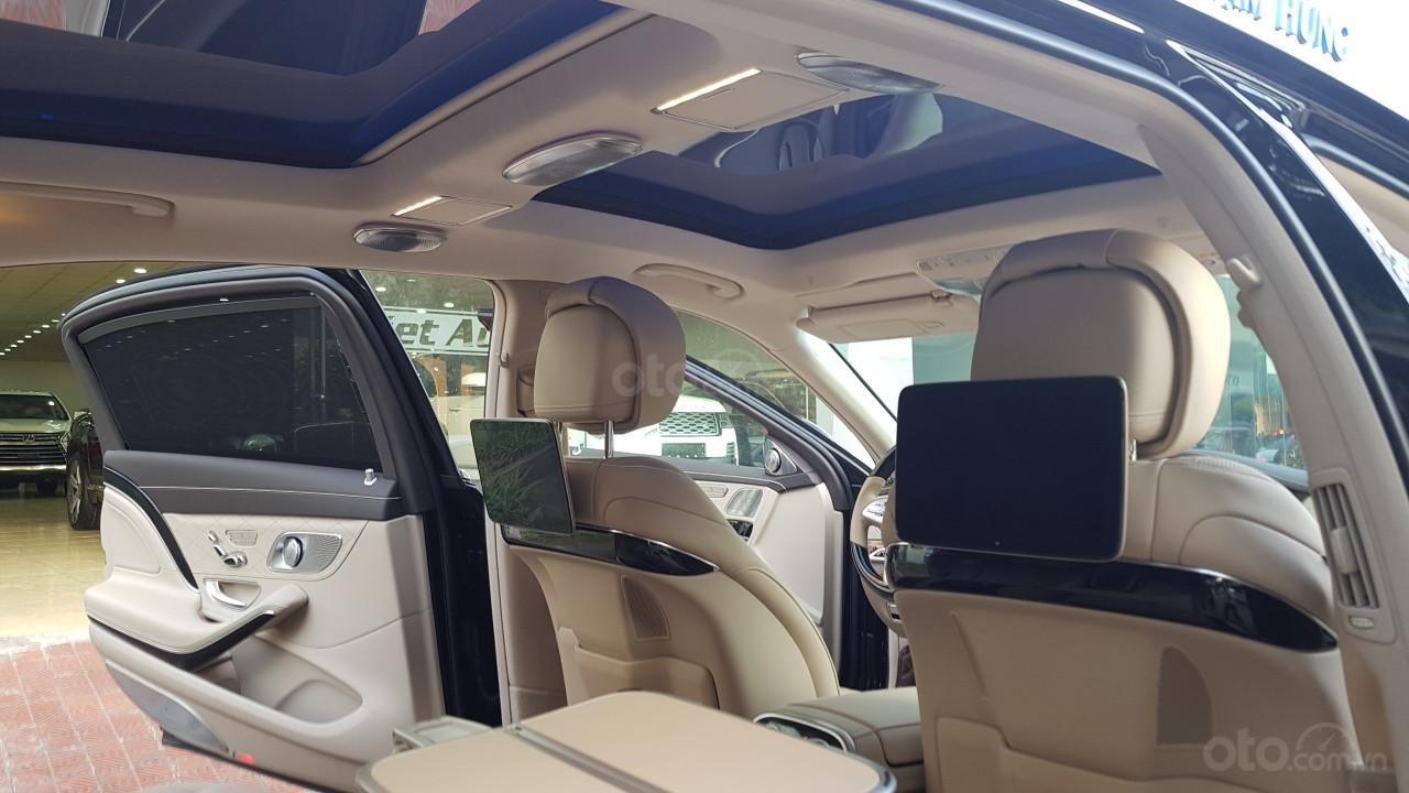 Bán Mercedes-Benz S450 Maybach màu đen, nội thất kem, xe sản xuất 2017, đăng ký lần đầu 4/2018 tên công ty-10