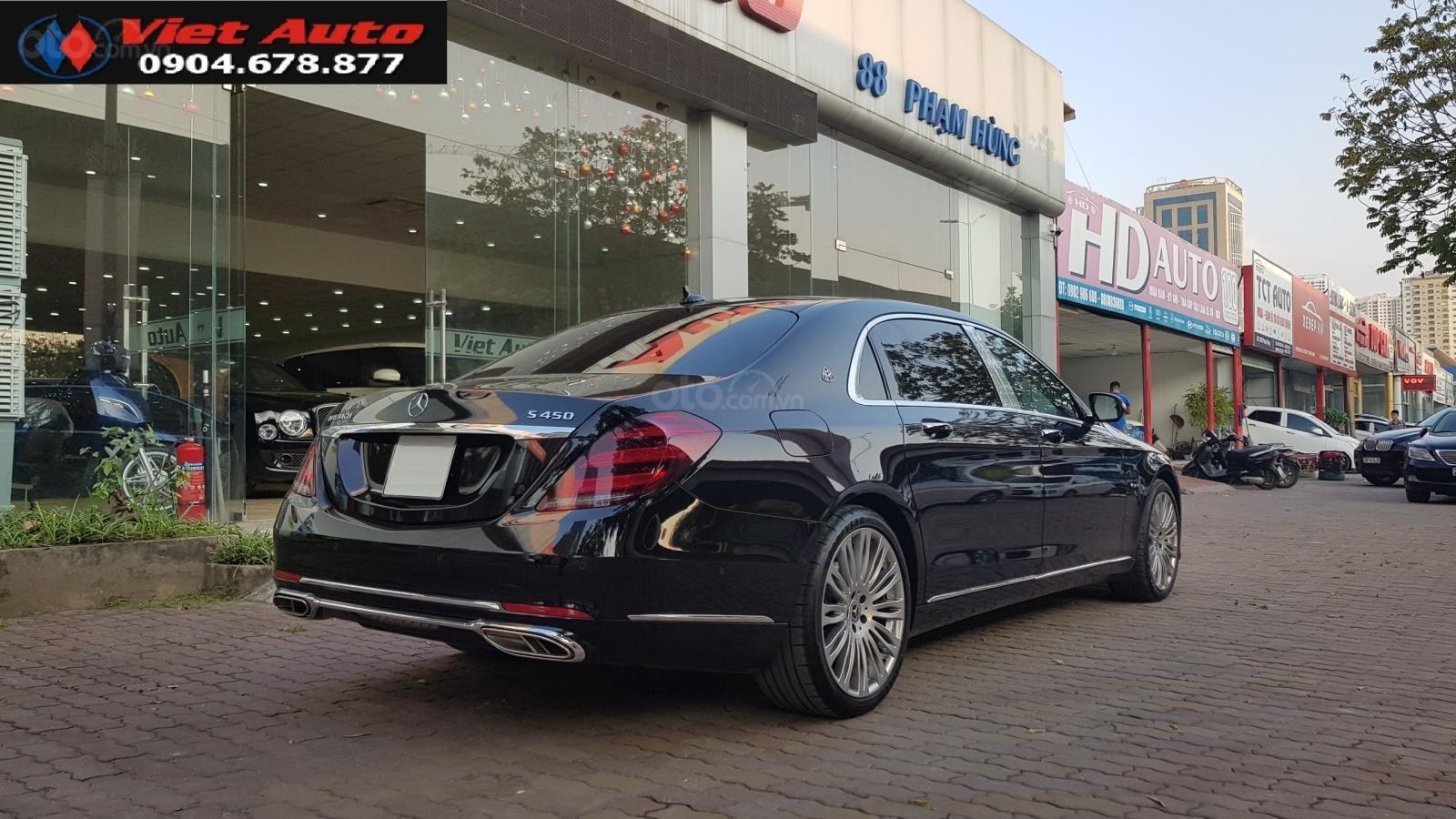 Bán Mercedes-Benz S450 Maybach màu đen, nội thất kem, xe sản xuất 2017, đăng ký lần đầu 4/2018 tên công ty-13
