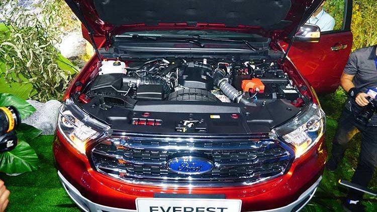 Ford Everest 2019 có sức mạnh và độ nhanh nhạy vượt trội hơn so với Hyundai Santa Fe 2019.
