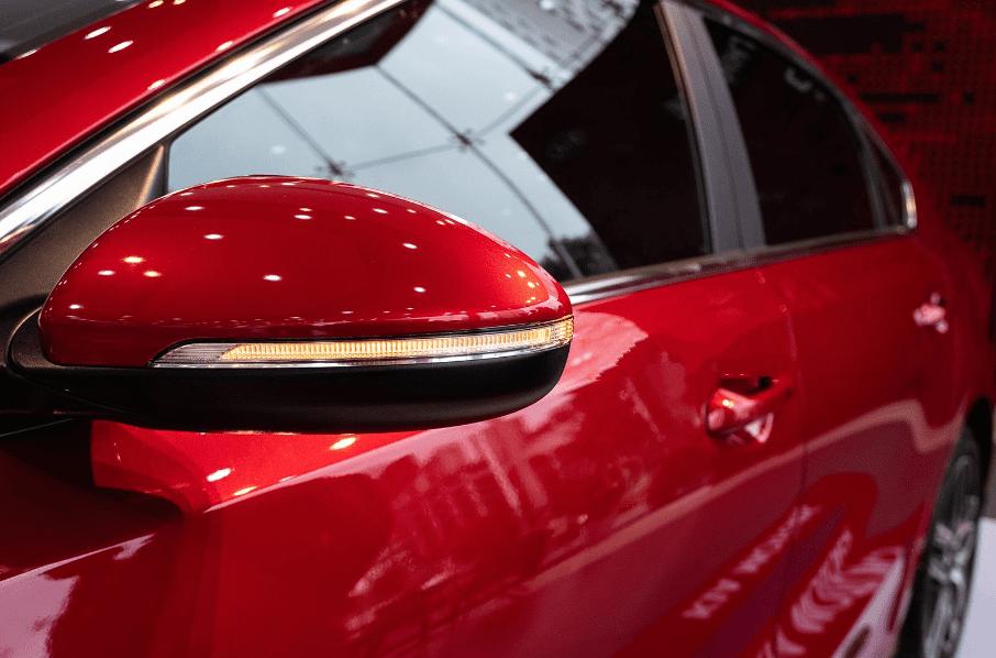 Kia Cerato 2019 bản 1.6 AT và 2.0 AT về gương chiếu hậu