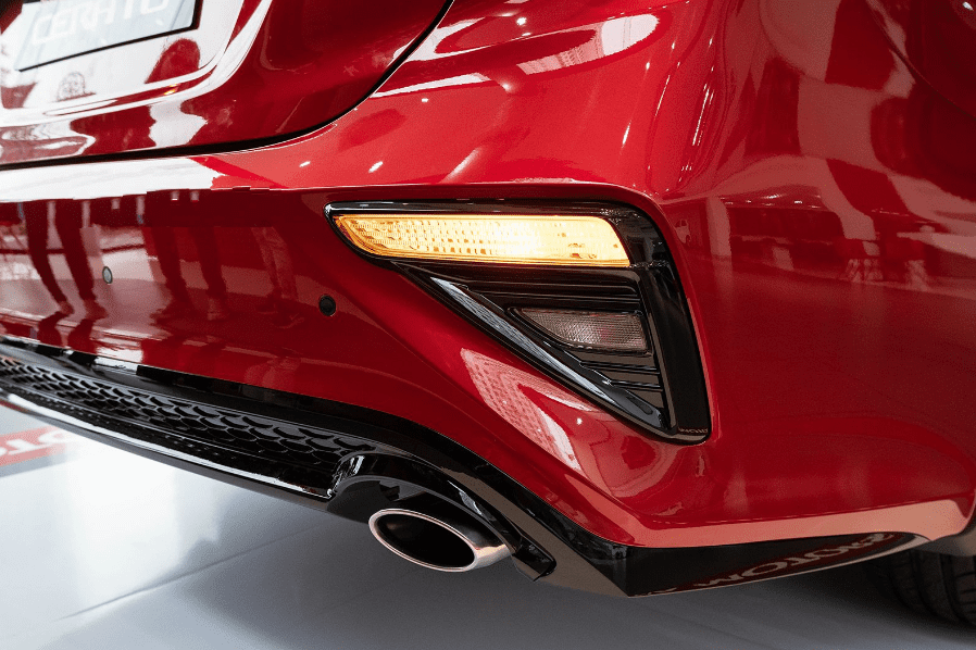 Kia Cerato 2019 bản 1.6 AT và 2.0 AT về ống xả