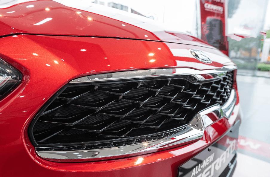 Kia Cerato 2019 bản 1.6 AT và 2.0 AT về lưới tản nhiệt