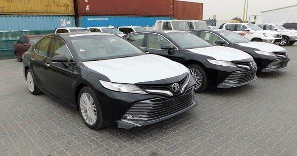 Toyota Camry 2019 cập cảng Việt Nam chờ ngày ra mắt  a1