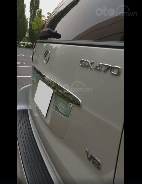 Bán xe Lexus Gx470 đời 2009 màu trắng, nhập khẩu (4)