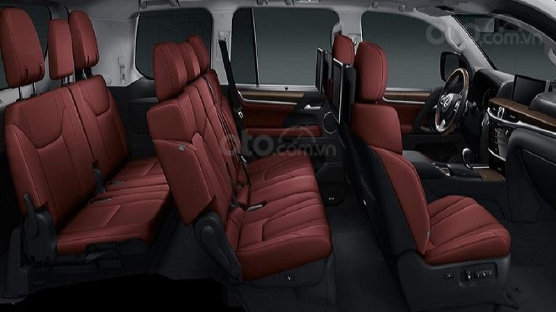 Ghế ngồi Lexus LX570 2019...