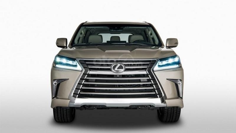 Đầu xe Lexus LX570 2019...