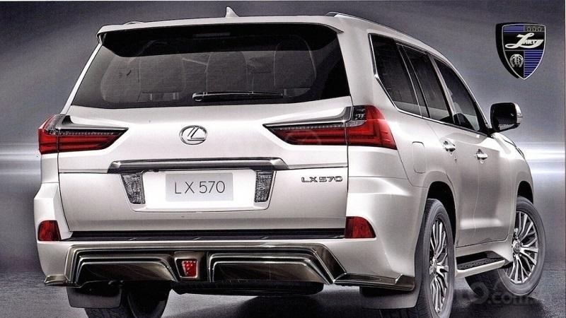Đuôi xe Lexus LX570 2019...