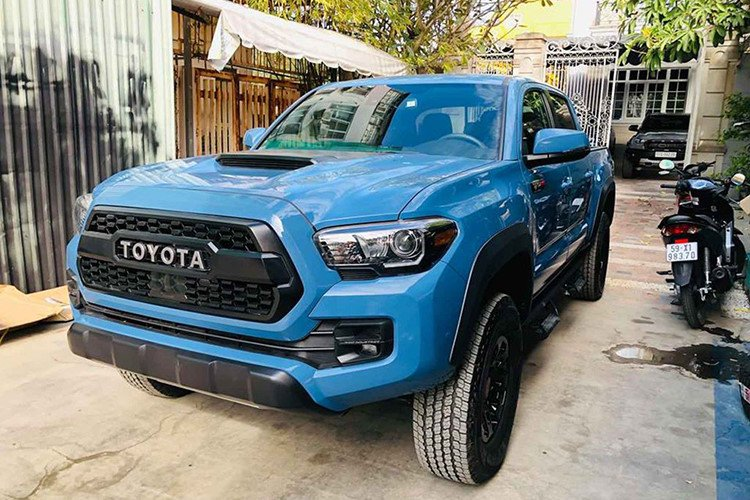 Chiêm ngưỡng Toyota Tacoma tại Việt Nam, hầm hố như Ford Ranger Raptor a5