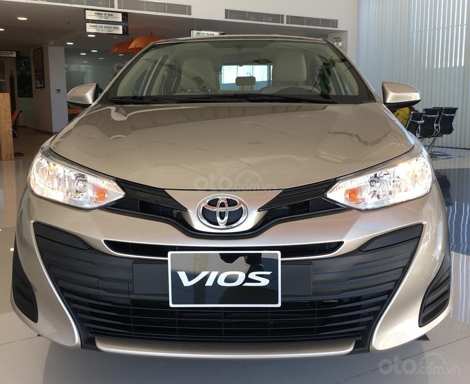 Bán Toyota Vios 1.5E MT 2019 - khuyến mãi tốt - giao xe ngay-0