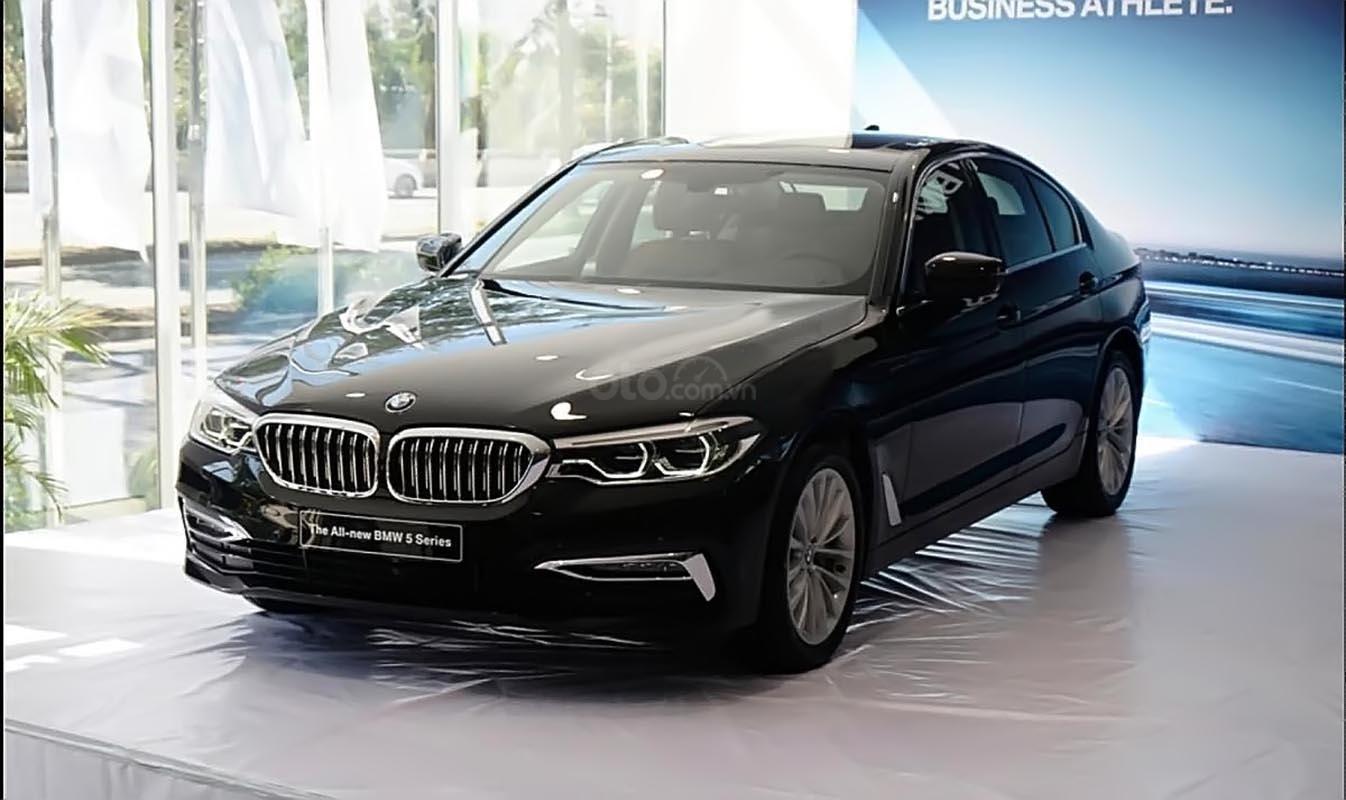 Bán xe BMW 5 Series 530i đời 2018, màu đen, xe nhập-0
