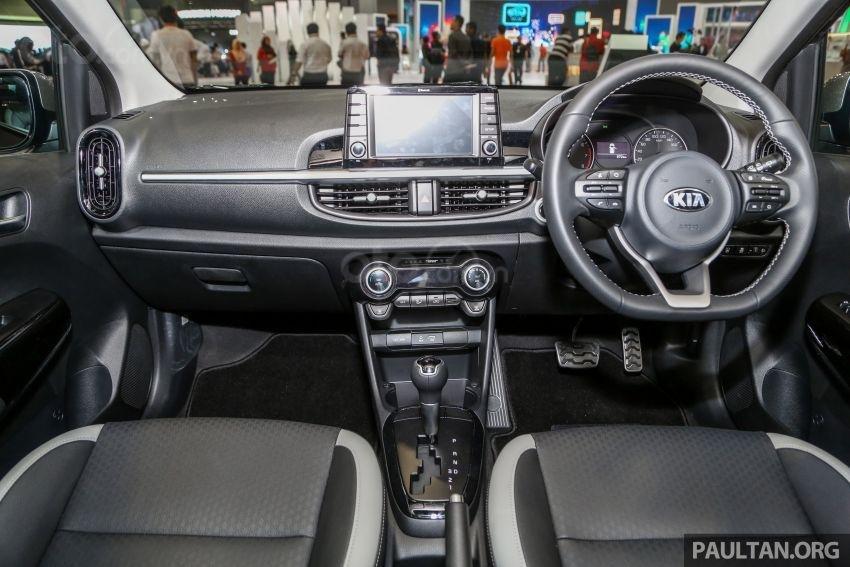 Kia Morning GT 2019 bổ sung nhiều cải tiến