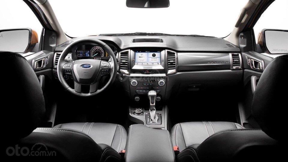 Nội thất của Ford Ranger 2019 không có sự thay đổi so với phiên bản cũ a1