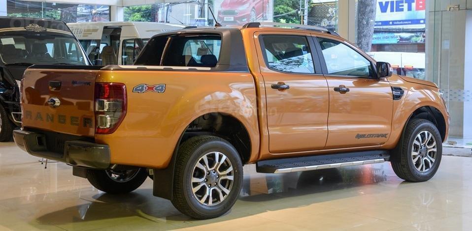 Thiết kế thân xe Ford Ranger 2019 toát lên sự khỏe khoắn, mạnh mẽ, đậm chất Mỹ a2