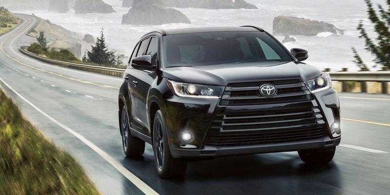 ô tô gia đình giá rẻ nên mua trong năm 2019: Toyota Highlander 2019.
