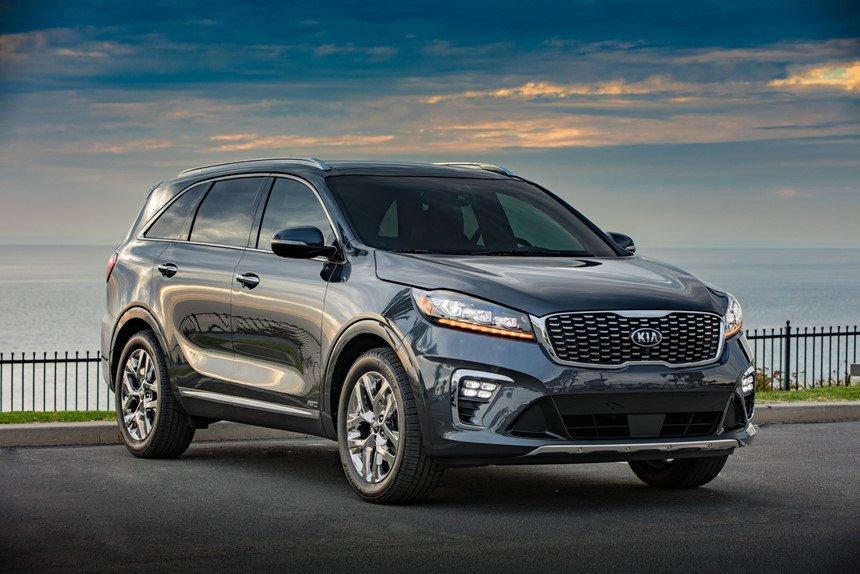 ô tô gia đình giá rẻ nên mua trong năm 2019: Kia Sorento 2019.
