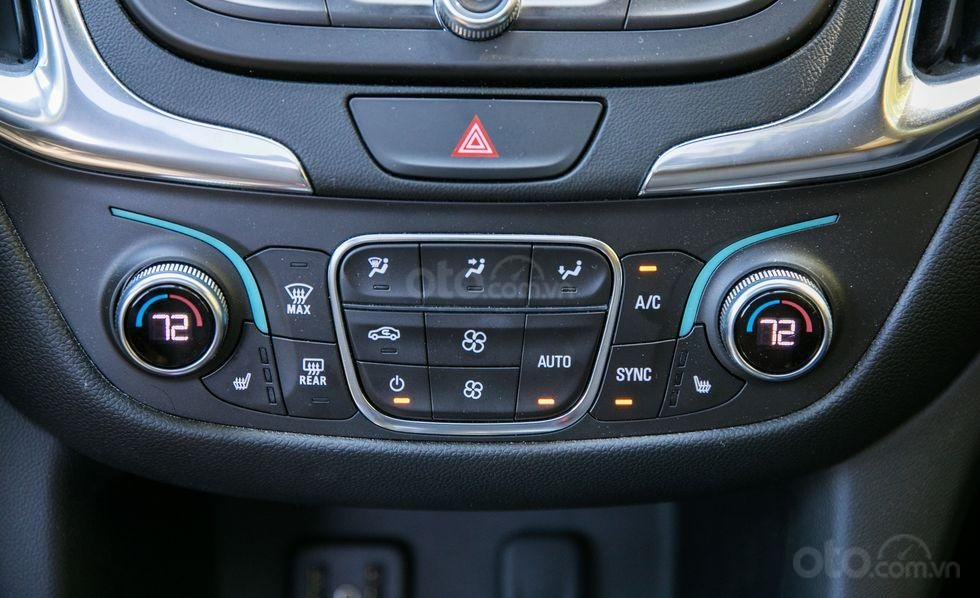 Phím điều khiển Chevrolet Equinox 2019