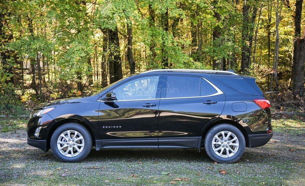 Chính diện thân xe Chevrolet Equinox 2019