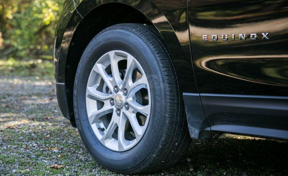 Mâm bánh của xe Chevrolet Equinox 2019