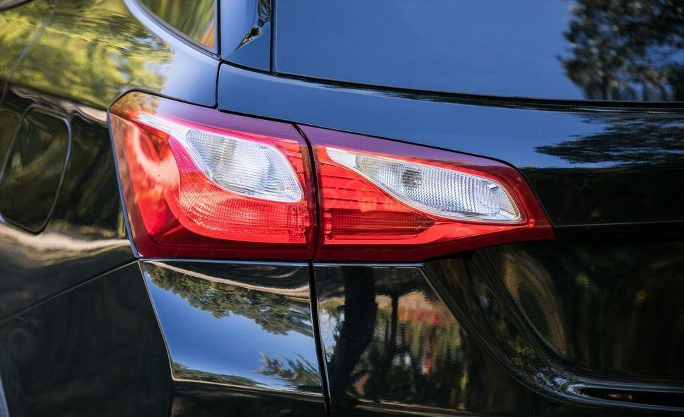 Đèn hậu của xe Chevrolet Equinox 2019