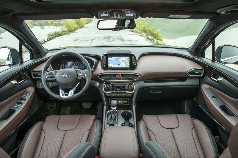 Hyundai Santa Fe 2019 biển số ngũ quý 5 được rao bán với giá gấp đôi a3