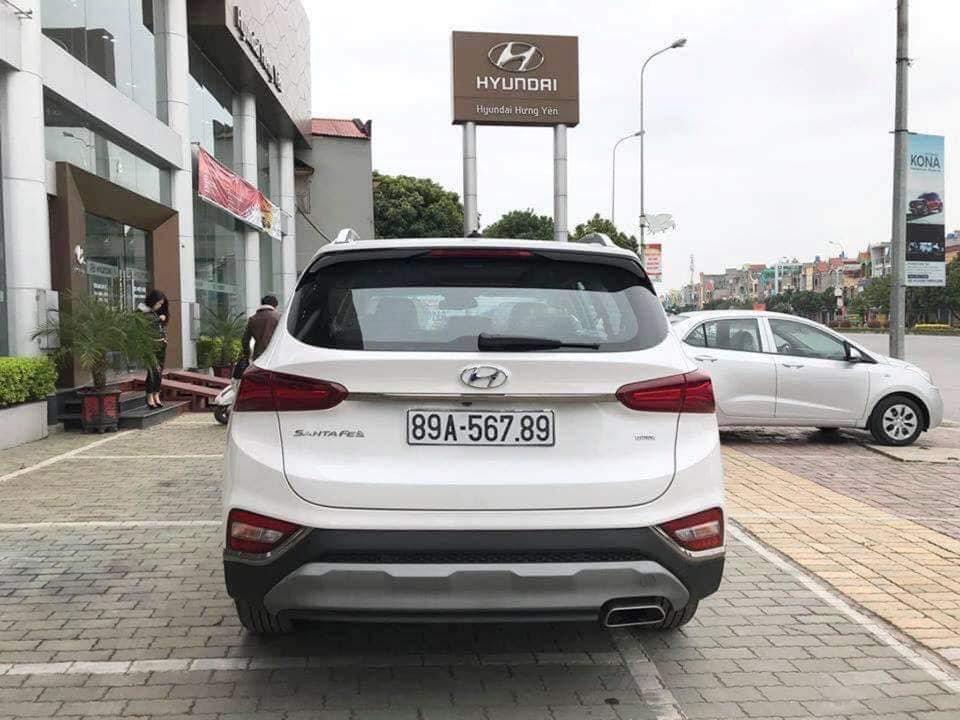 Hyundai Santa Fe 2019 biển số ngũ quý 5 được rao bán với giá gấp đôi a7