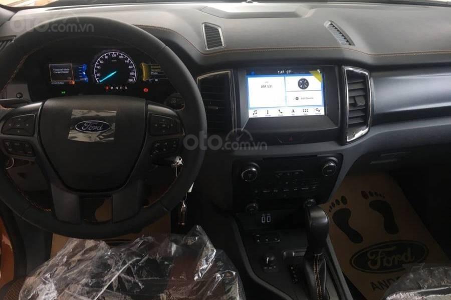 Mẫu bán tải Ford Ranger 2019 sở hữu loạt trang bị tiện nghi không hề thua kém các dòng xe du lịch a1