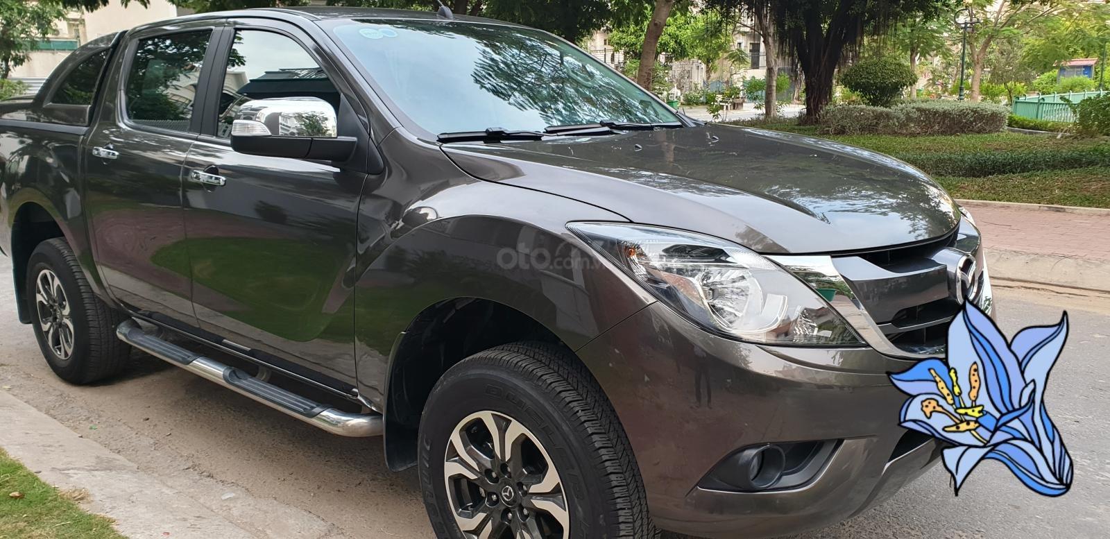 Bán Mazda BT 50 máy dầu, 2.2 số tự động, model 2018 đời T10/2017, màu nâu, nhập khẩu mới 95%-3