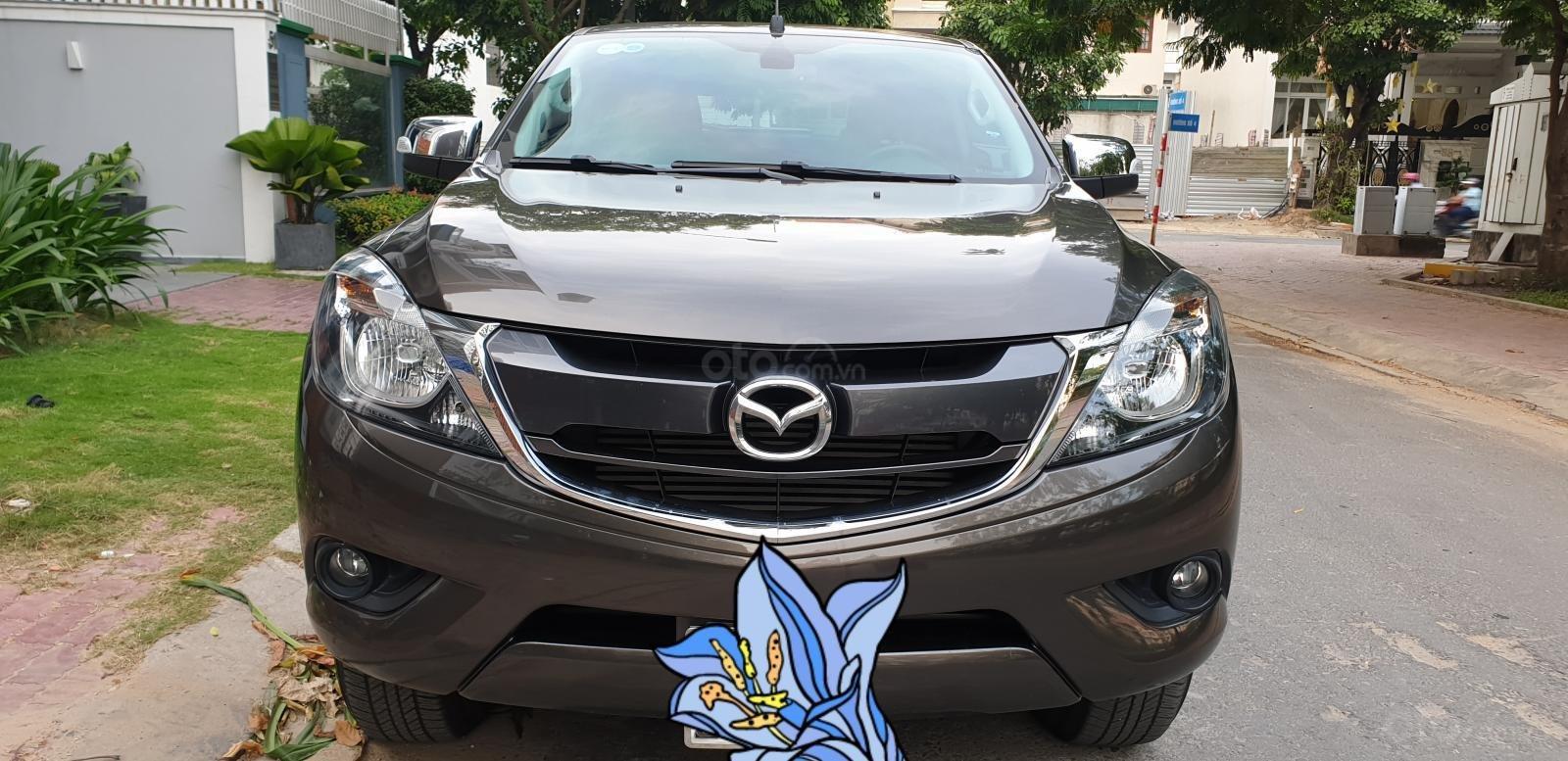 Bán Mazda BT 50 máy dầu, 2.2 số tự động, model 2018 đời T10/2017, màu nâu, nhập khẩu mới 95%-8