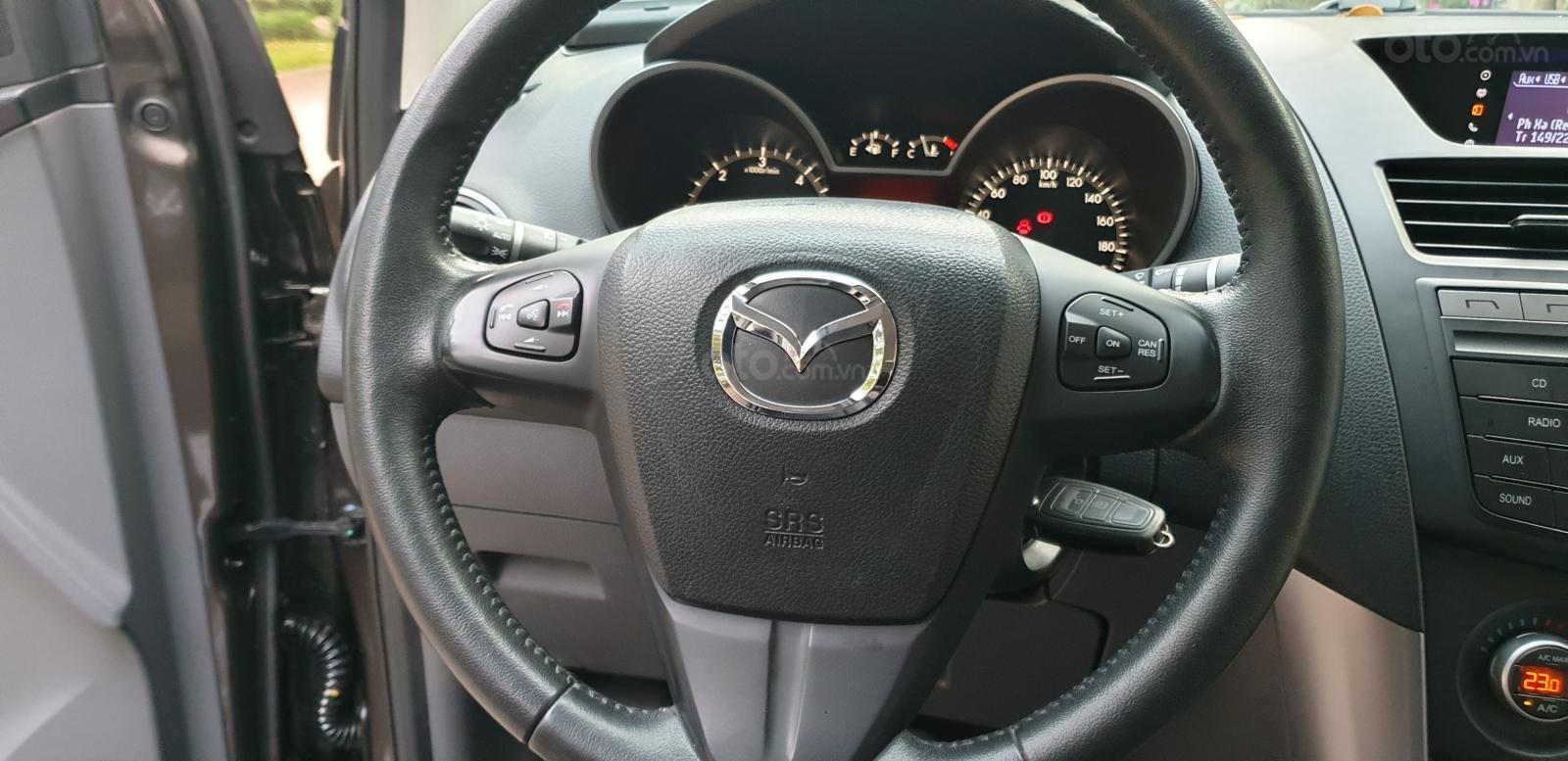 Bán Mazda BT 50 máy dầu, 2.2 số tự động, model 2018 đời T10/2017, màu nâu, nhập khẩu mới 95%-14