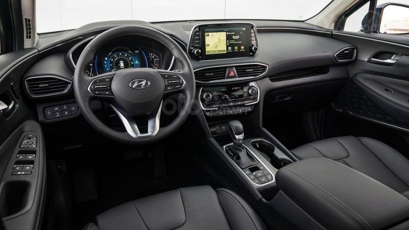 Nội thất Hyundai SantaFe 2019...