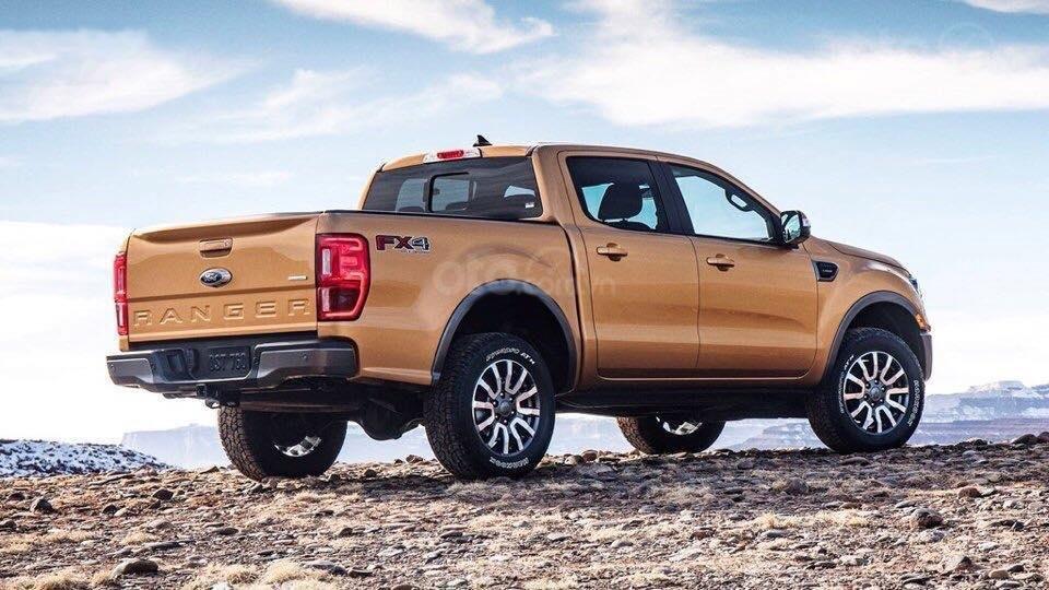 Ford Ranger 2019 gây ấn tượng với ngoại hình hầm hố, táo bạo a1