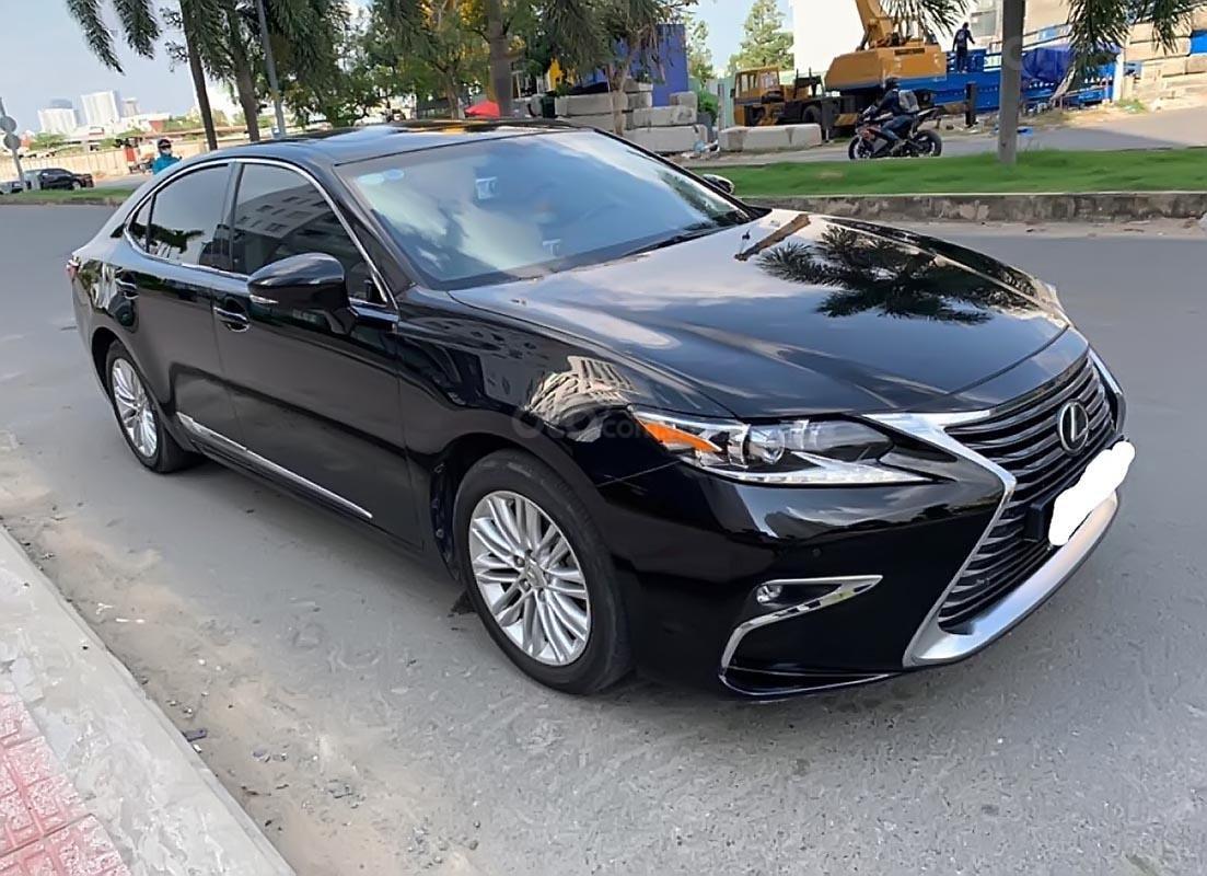 Bán xe Lexus ES 250 SX 2016 nhập khẩu, số tự động, máy xăng, màu đen, nội thất màu kem-0