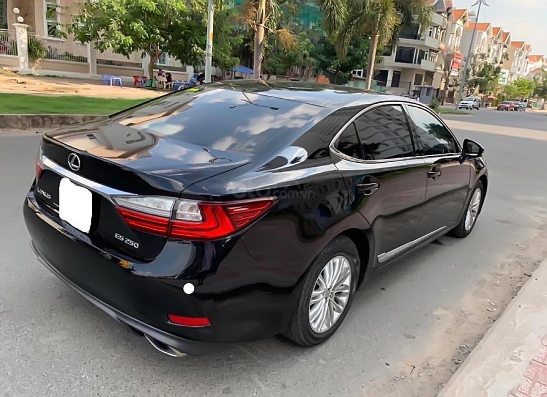 Bán xe Lexus ES 250 SX 2016 nhập khẩu, số tự động, máy xăng, màu đen, nội thất màu kem-1