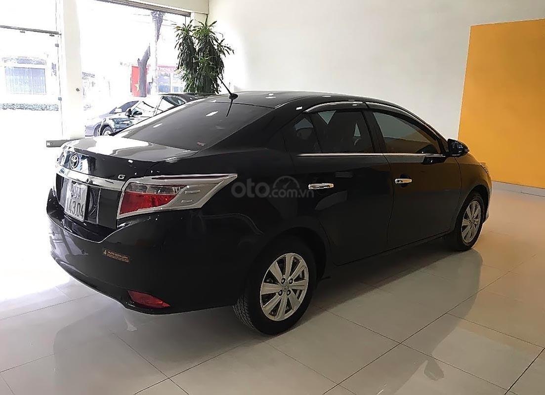 Bán xe Toyota Vios AT bản G sản xuất 2017, màu đen, đã đi 33092 km (2)