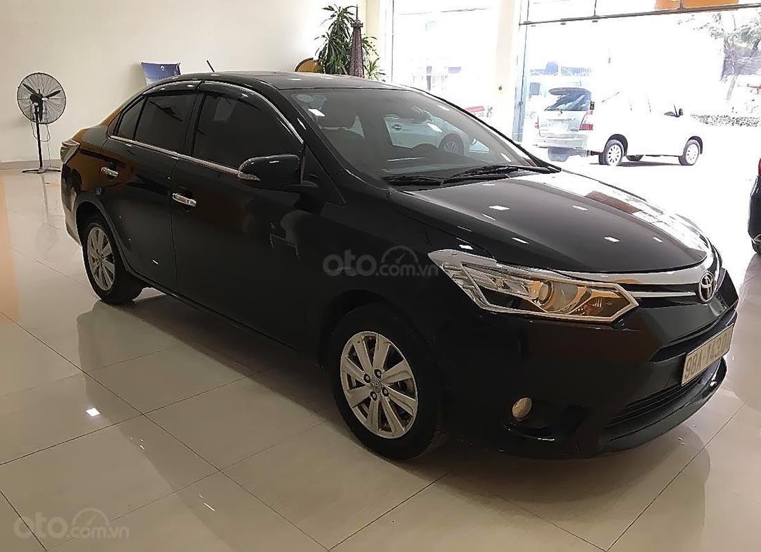 Bán xe Toyota Vios AT bản G sản xuất 2017, màu đen, đã đi 33092 km (1)