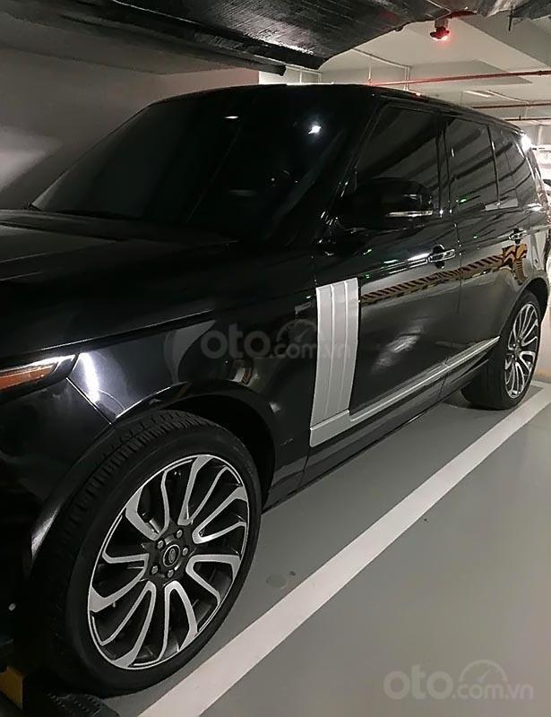 Bán LandRover Range Rover Autobiography 5.0 đời 2013, màu đen, nhập khẩu nguyên chiếc-0