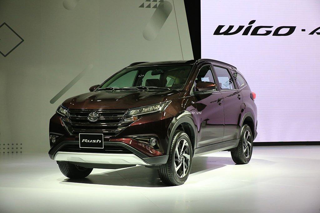 Giá xe Toyota Rush cập nhật mới nhất trên thị trường.