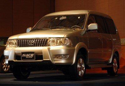 Toyota Zace lần đầu giới thiệu vào năm 1999...