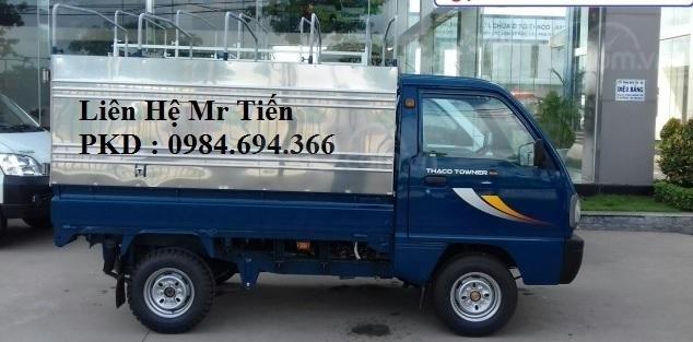 Xe tải 5 tạ nâng tải 9 tạ Thaco Towner nhỏ gọn, đủ loại thùng, giá tốt, liên hệ 0984694366 (11)