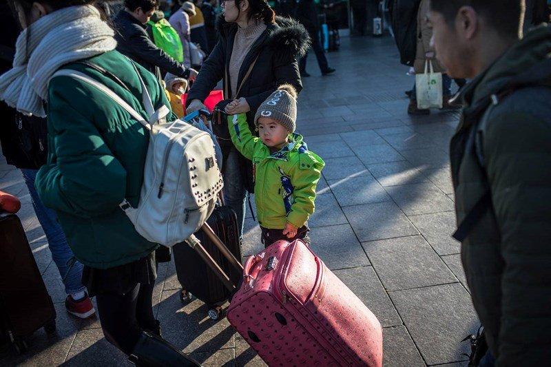 Cảnh di dân lớn nhất năm ở Trung Quốc trước Tết Nguyên đán 2019 8