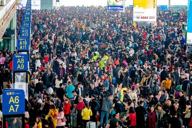 Xuân vận năm 2019 ở Trung Quốc