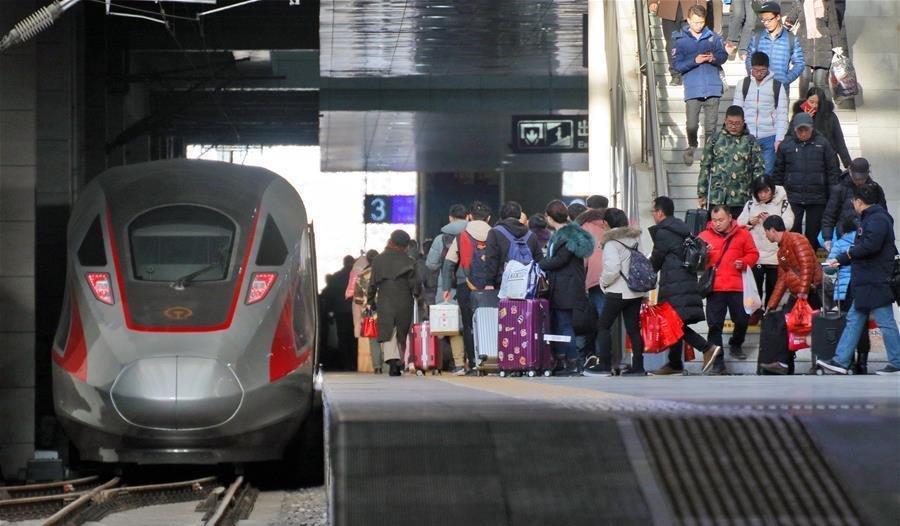 Đường sắt cao tốc được tăng cường trong đợt Xuân vận năm 2019