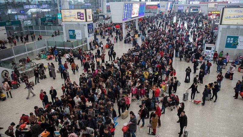 Cảnh di dân lớn nhất năm ở Trung Quốc trước Tết Nguyên đán 2019